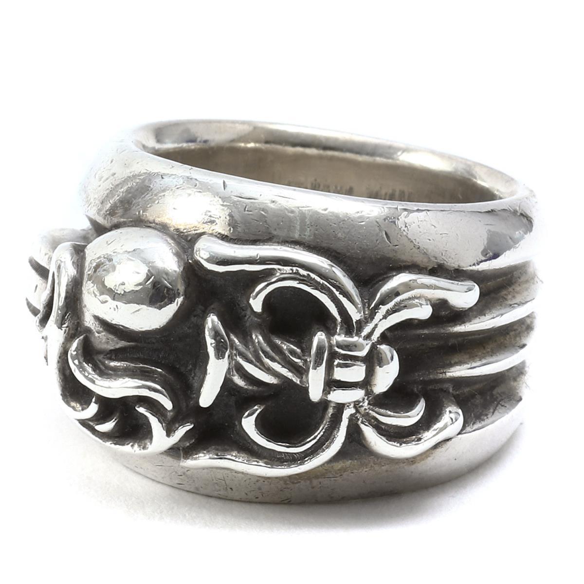 c1292ad36cc CHROME HEARTS (chromic Hertz) dagger heart ring (Dagger Heart Ring) silver  20