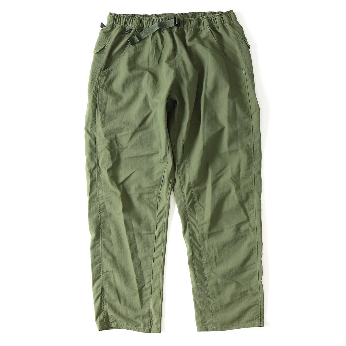 山と道 (ヤマトミチ) 18S/S 5ポケットハイカーパンツ(5-Pockets Pants) オリーブ M 【メンズ】【美品】【K2080】【中古】【あす楽☆対応可】