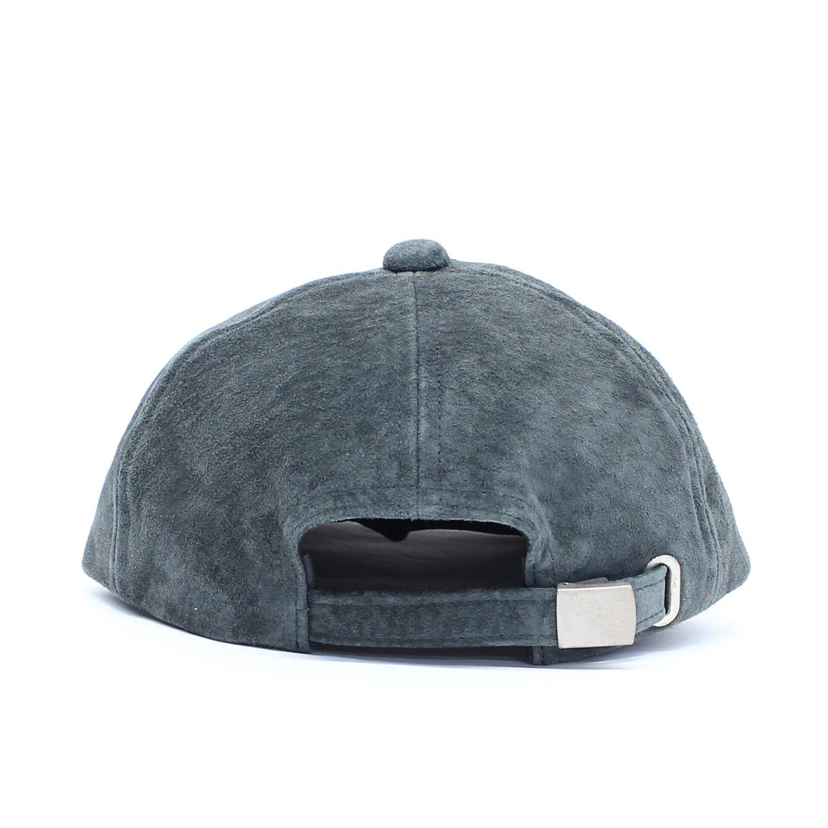 BEEGLE by Boo-Bee  YOUNG  amp  OLSEN (young people and Olsen) 18A W PIG SUEDE  BB CAP suede cloth cap charcoal gray  6dff1f4d65e0