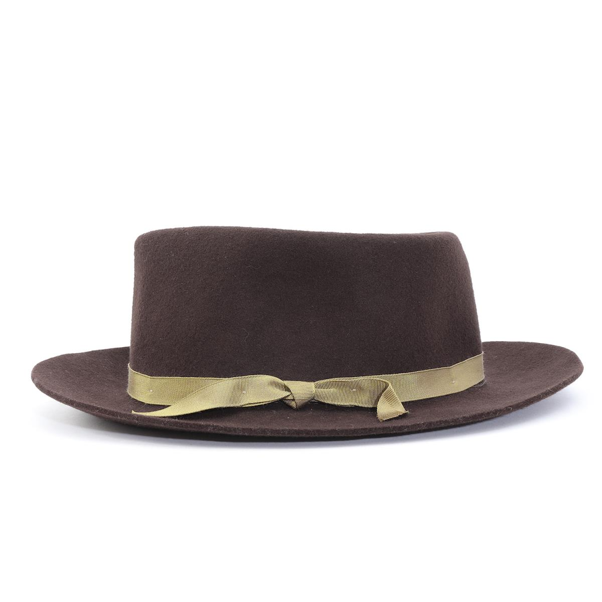 f48b8ec8f EFFANEM (エファネム) wool crusher hat (CRUSHER HAT) brown 7 3/8(59cm)