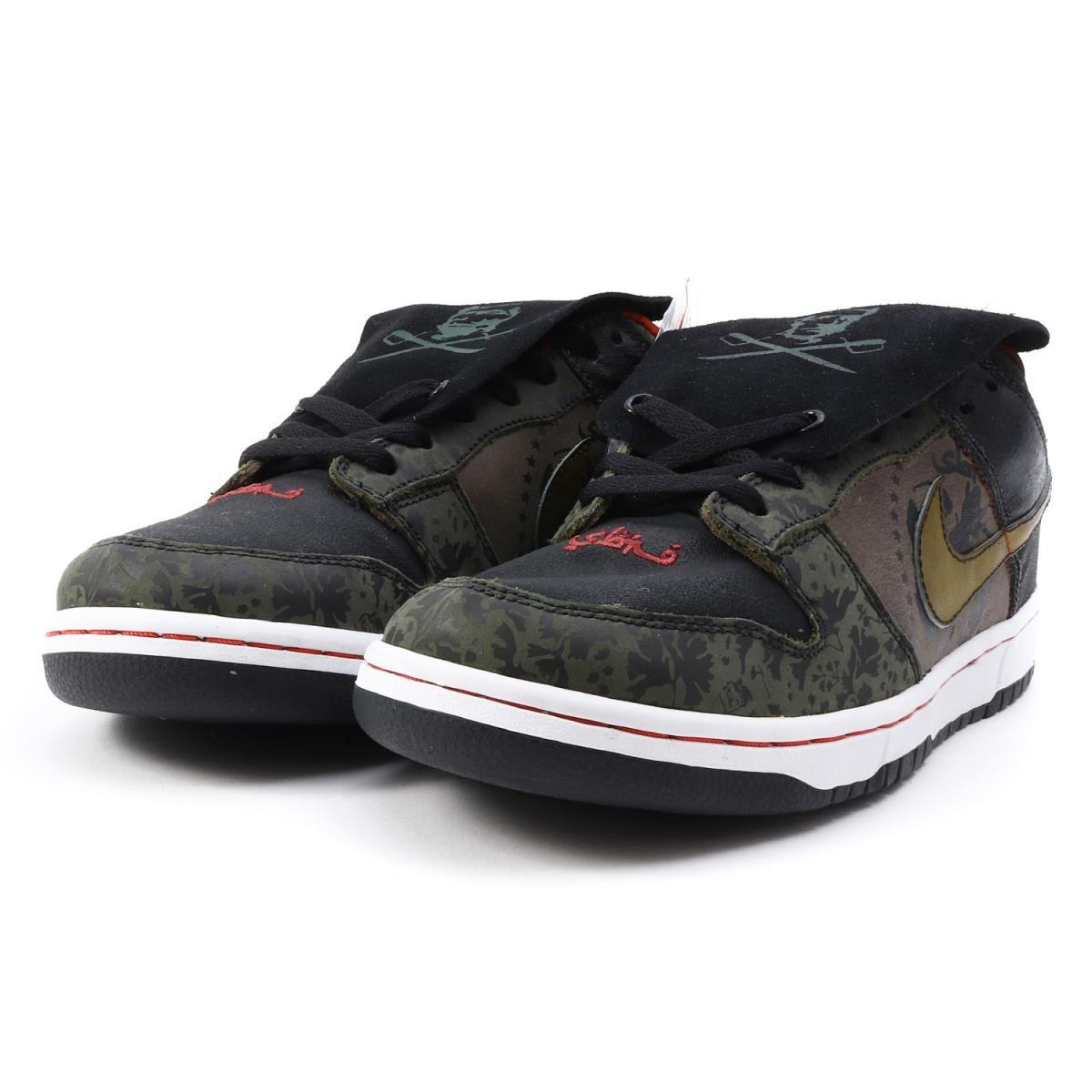 super popular 44a09 be932 NIKE (Nike) DUNK LOW PREMIUM SB SBTG (313,170-201) sable coat green X  metallic gold US9.5(27.5cm)