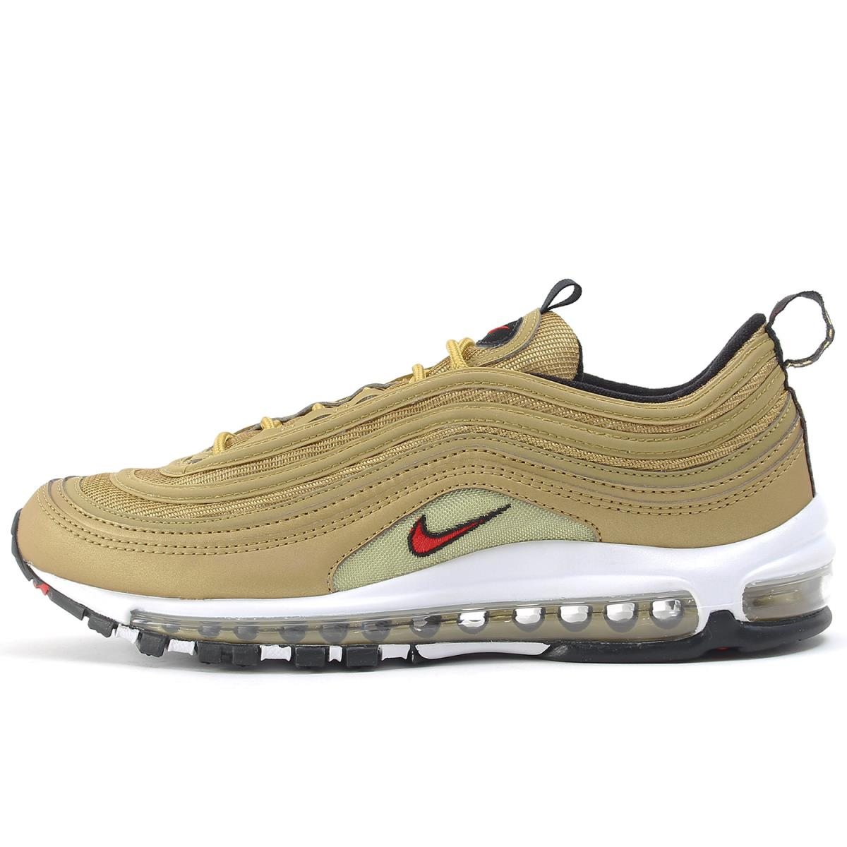 sale retailer dff88 a1095 NIKE (Nike) AIR MAX 97 OG QS METALLIC GOLD (884,421-700) metallic gold  US8.5(26.5cm)