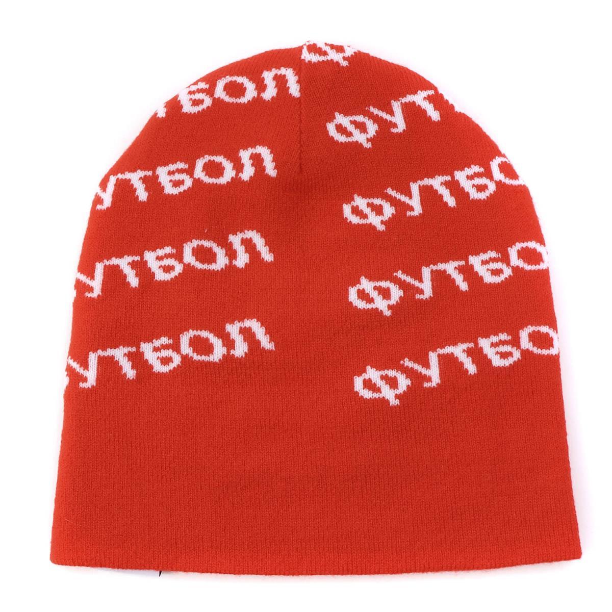 9b38c2f823b Gosha Rubchinskiy (go Schalla butyne ski) 17A W X adidas monogram logo knit  beanie red