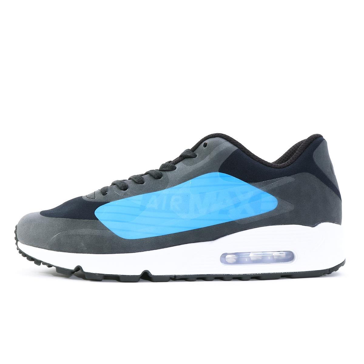 size 40 d1ffa 8df75 NIKE (Nike) AIR MAX 90 NS GPX (AJ7182-001) black X laser blue US9.5(27.5cm)