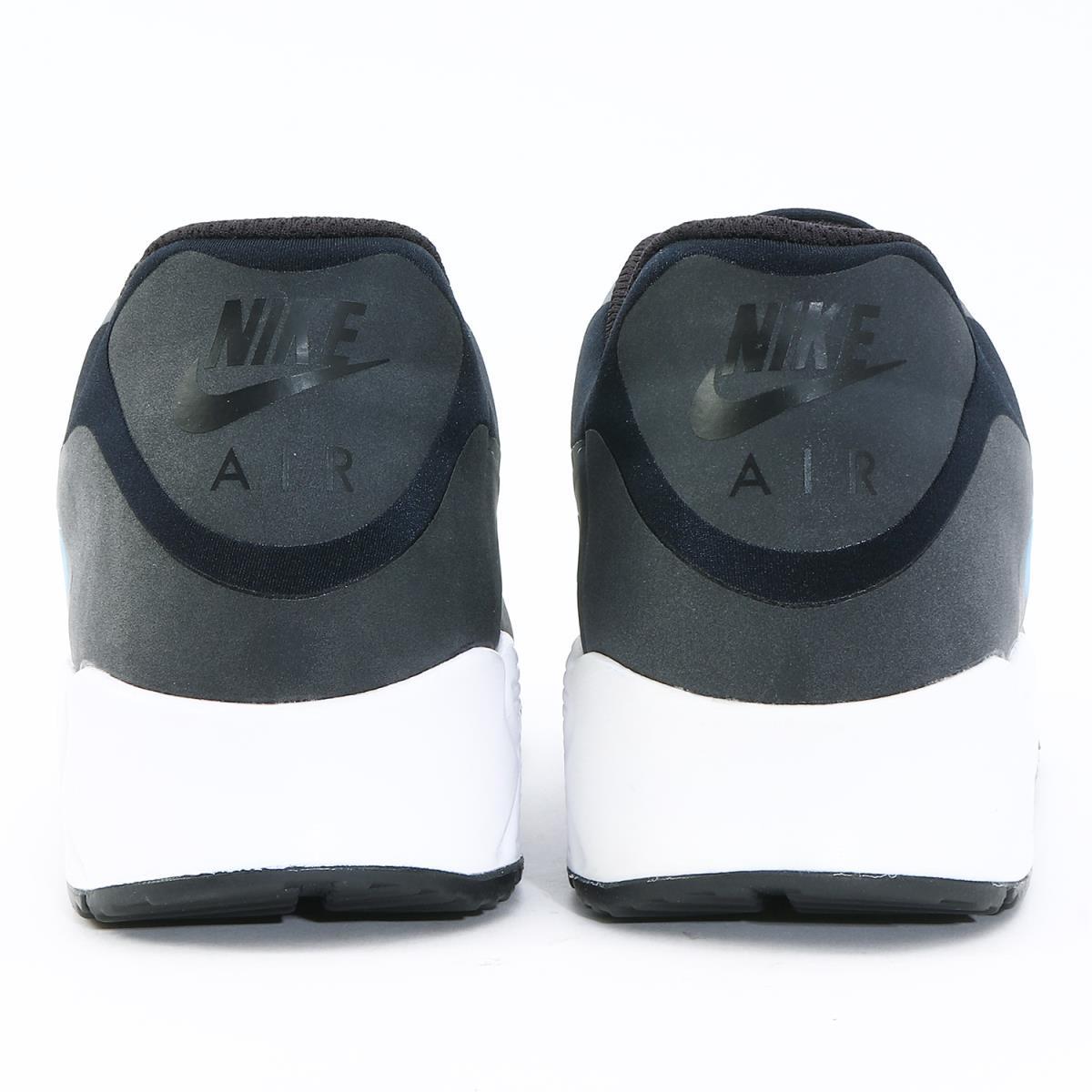 NIKE (Nike) AIR MAX 90 NS GPX (AJ7182 001) black X laser blue US9.5(27.5cm)