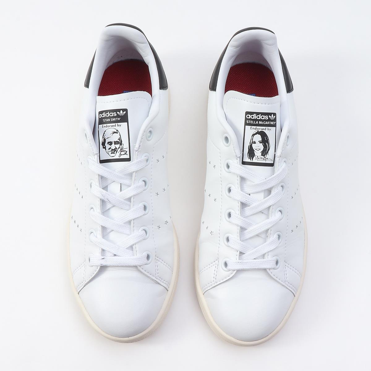 39b240ac8d6e66 STELLA McCARTNEY (Stella McCartney) 18A W X adidas Adidas Stan Smith star  star white X black 23cm