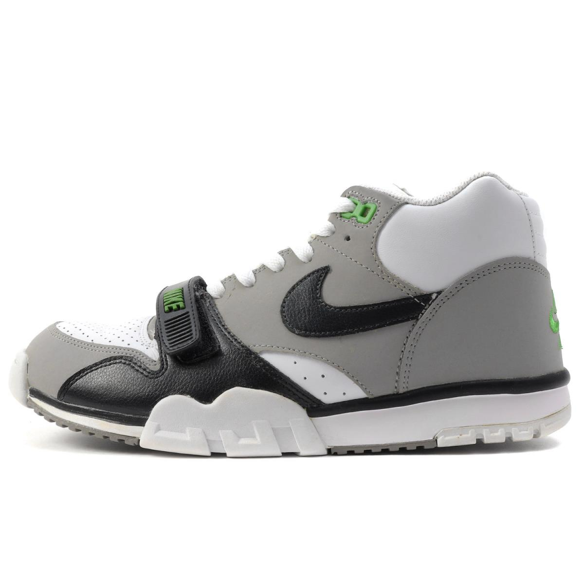 huge discount 70411 299b8 NIKE (Nike) AIR TRAINER 1 MID PREMIUM (317,553-100) white X black  US9.5(27.5cm)
