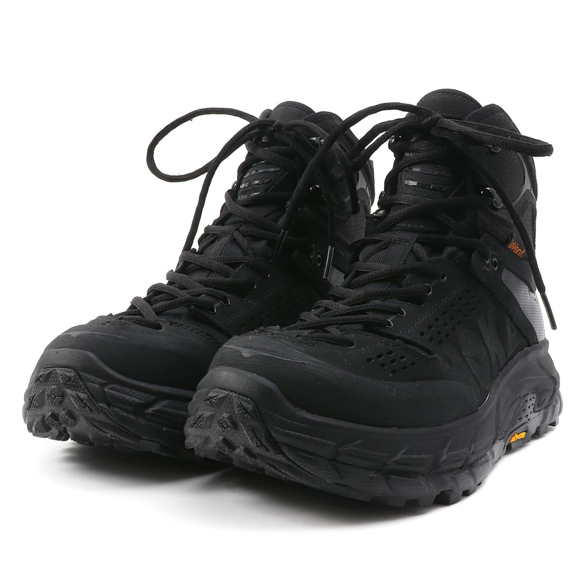 8864e6eccfe HOKA ONE ONE (ホカオネオネ) toe ultra high waterproof boots (TOR ULTRA HI WP)  black US10(28cm)