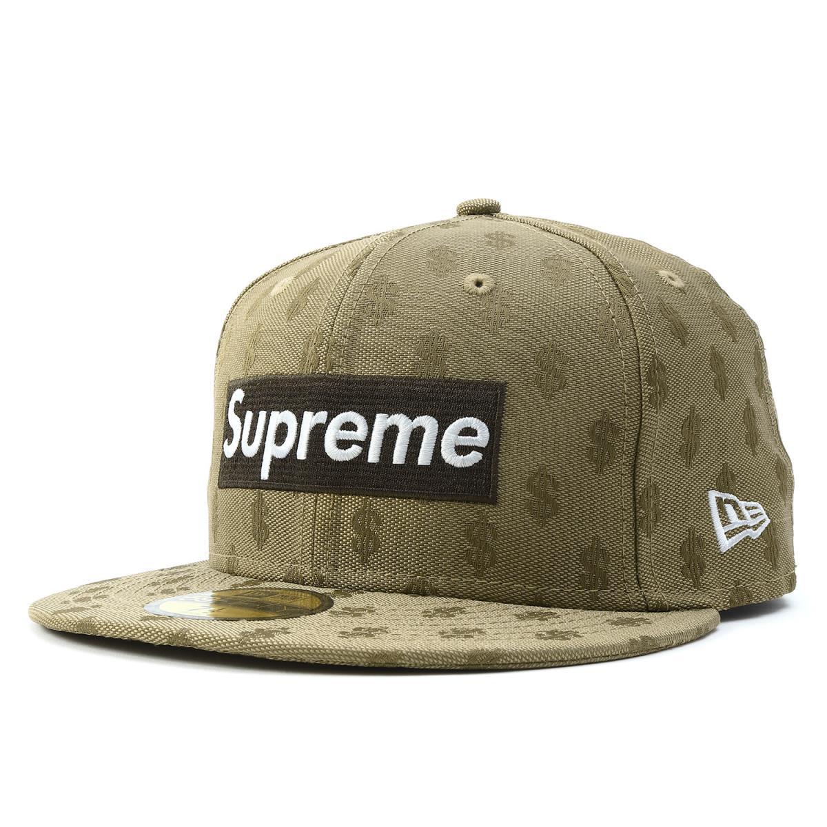 Supreme (シュプリーム) 18S S X NEW ERA BOX logo monogram baseball cap (Monogram  Box Logo) brown 7 1 2(59.6cm) 260289586c85