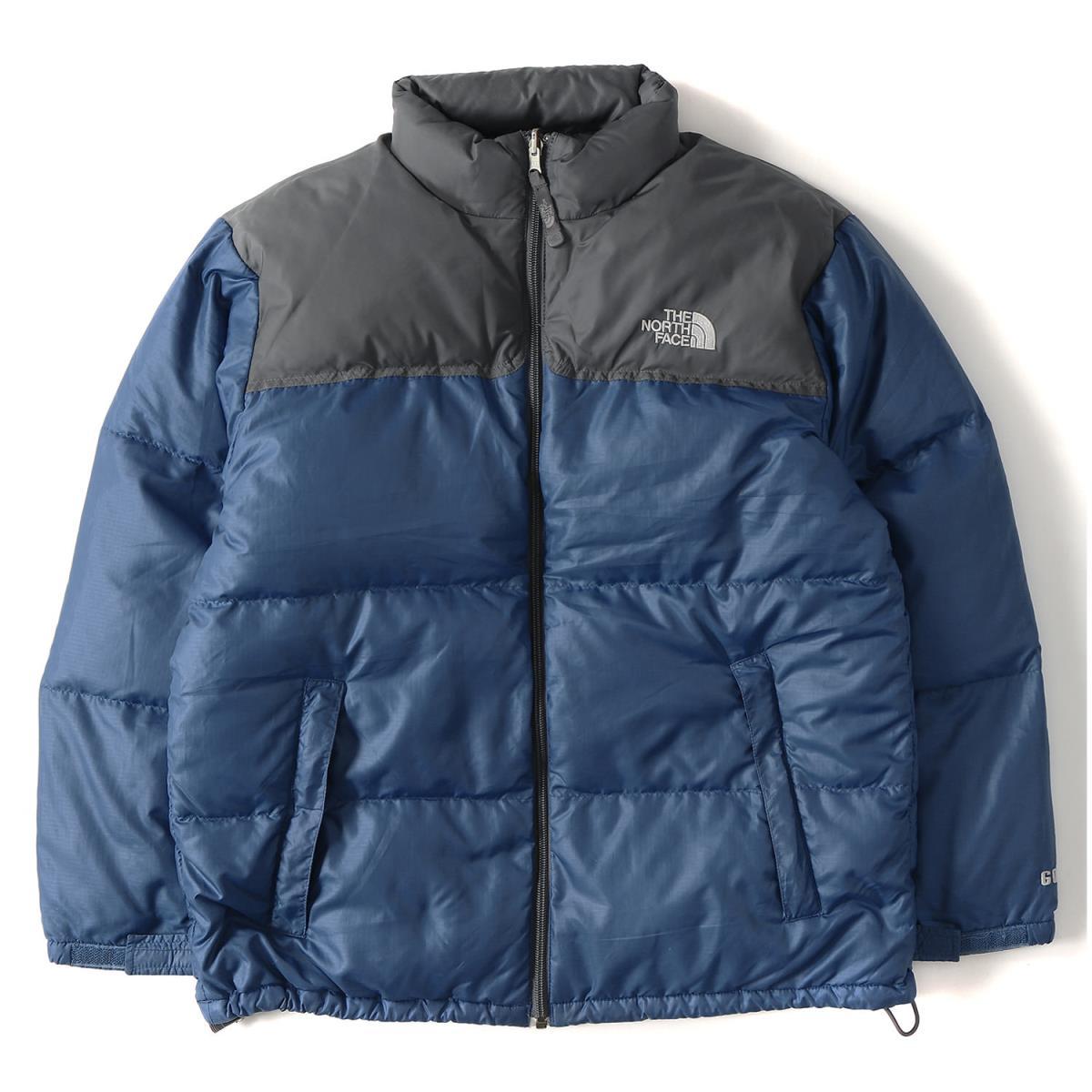 3376203278 ... where can i buy the north face the north face nuptse jacket navy x gray  boys