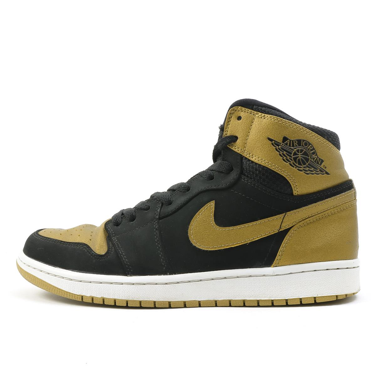 separation shoes 6ec64 63eaf NIKE (Nike) AIR JORDAN 1 RETRO HIGH CARMELO ANTHONY (332,550-026) black X metallic  gold US9(27cm)