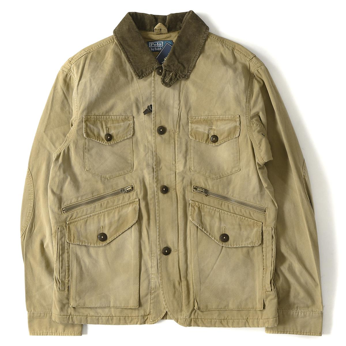 47fc2c7b330425 POLO by Ralph Lauren (polo by Ralph Lauren) vintage processing hunting jacket  brown S
