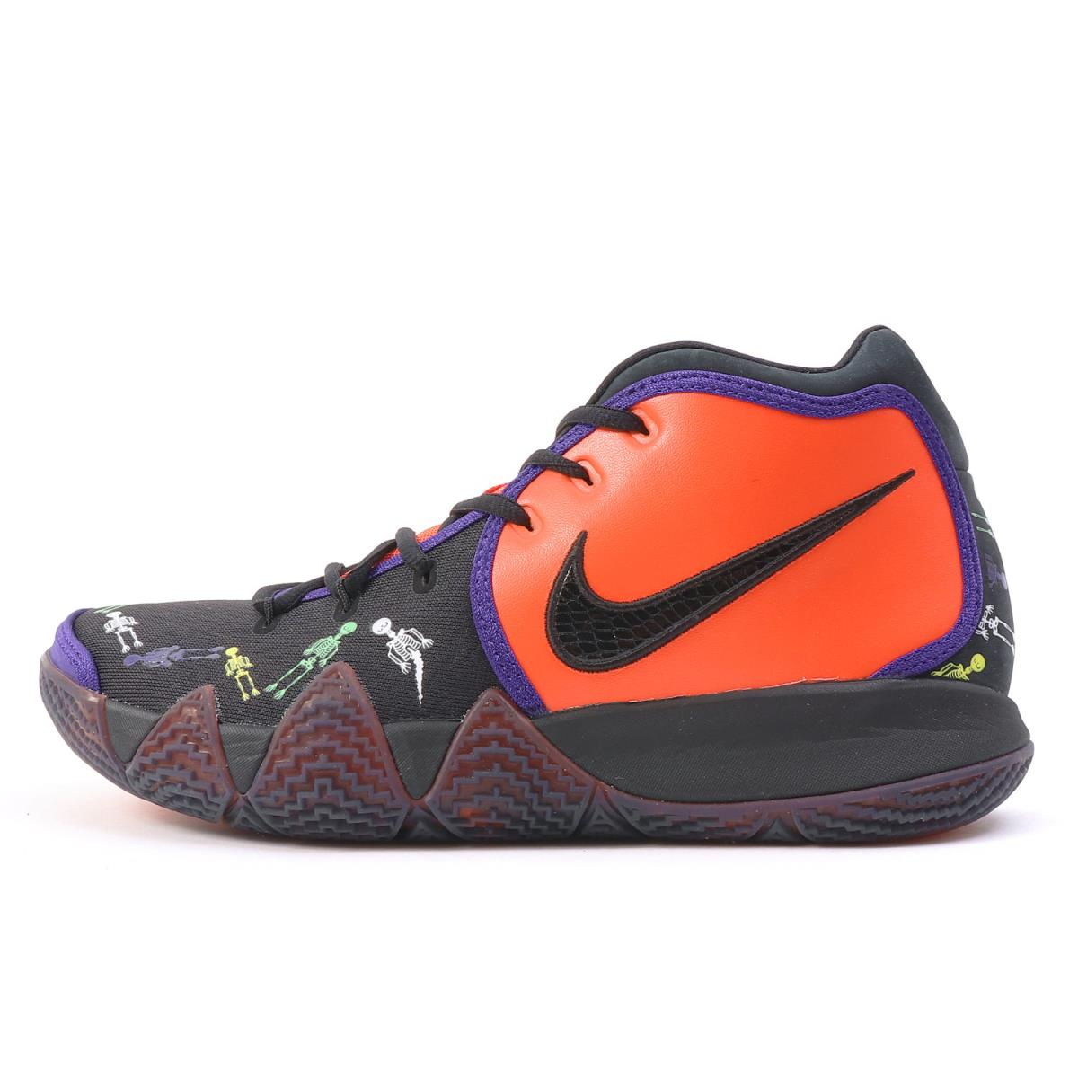 finest selection ebcb3 af188 NIKE (Nike) KYRIE 4 DOTD TV PE 1 DAY OF THE DEAD (CI0278-800) team orange X  black US9(27cm)