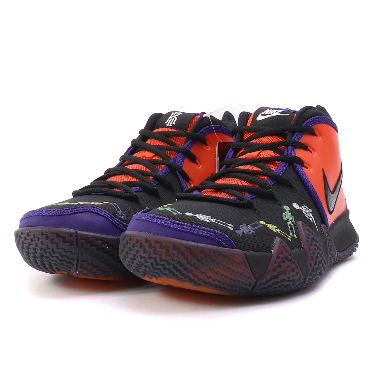 finest selection 2c8d4 36ef4 NIKE (Nike) KYRIE 4 DOTD TV PE 1 DAY OF THE DEAD (CI0278-800) team orange X  black US9(27cm)