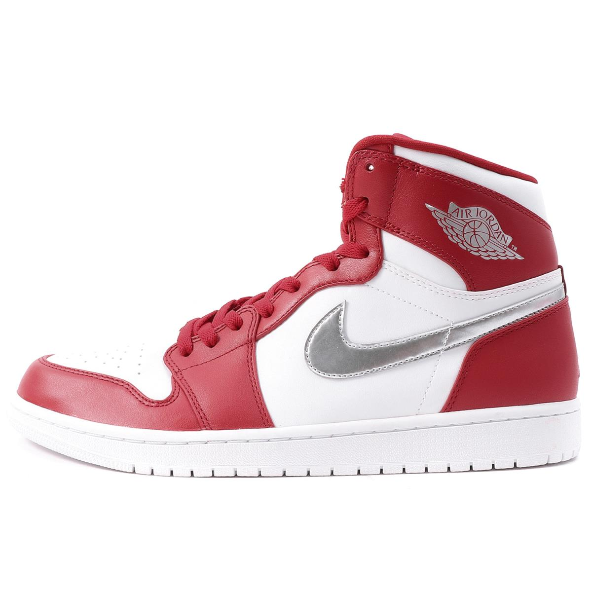 new product c84f8 4175e AIR JORDAN 1 RETRO HIGH GYM RED (332,550-602) gym red X white US11(29cm)  made in NIKE (Nike) 2016