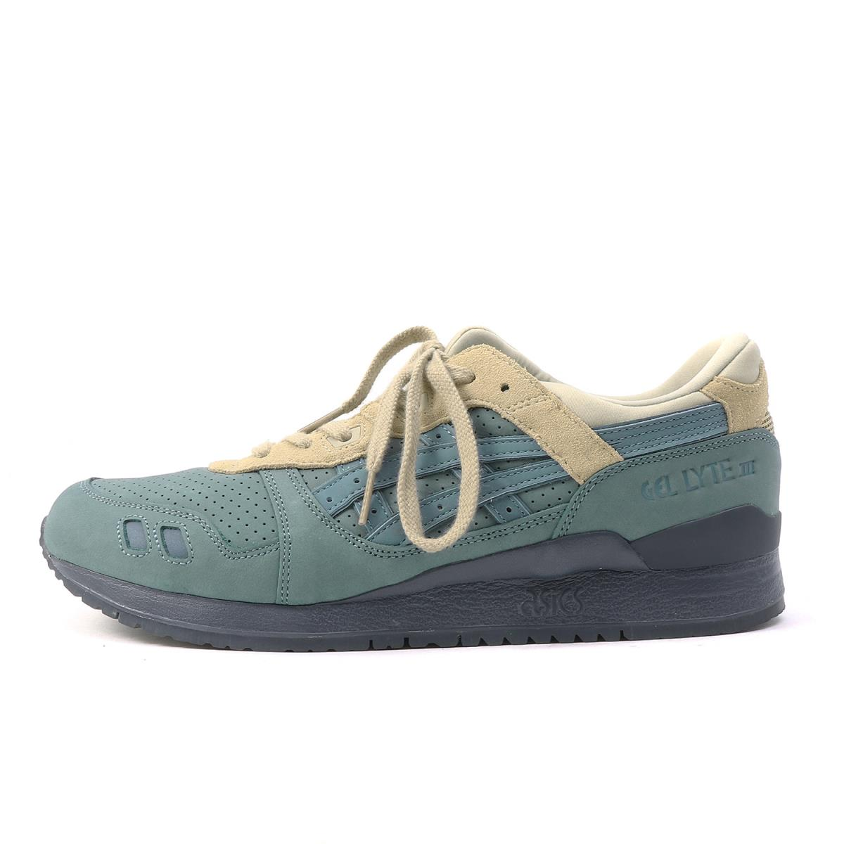 big sale 746e4 c9618 asics (ASICS) GEL-LYTE III (TQ6W0L) light blue X beige US11(28.5cm)