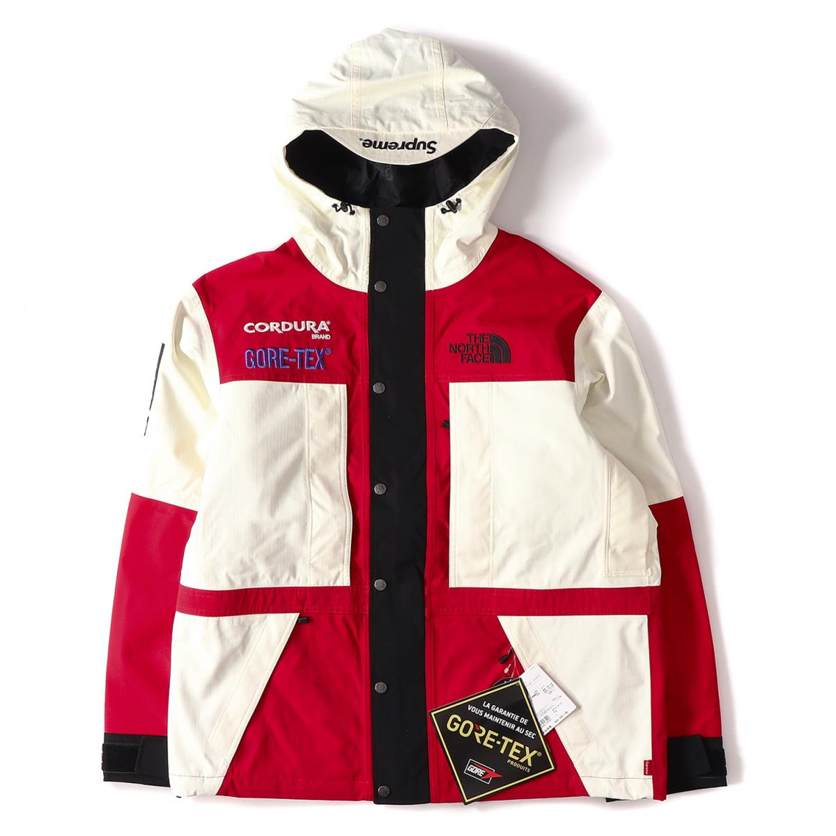 Papyrus L For Supreme シュプリーム North Face Jacket The Gore Tex Mountain Expedition 18 Years In Fall And Winter