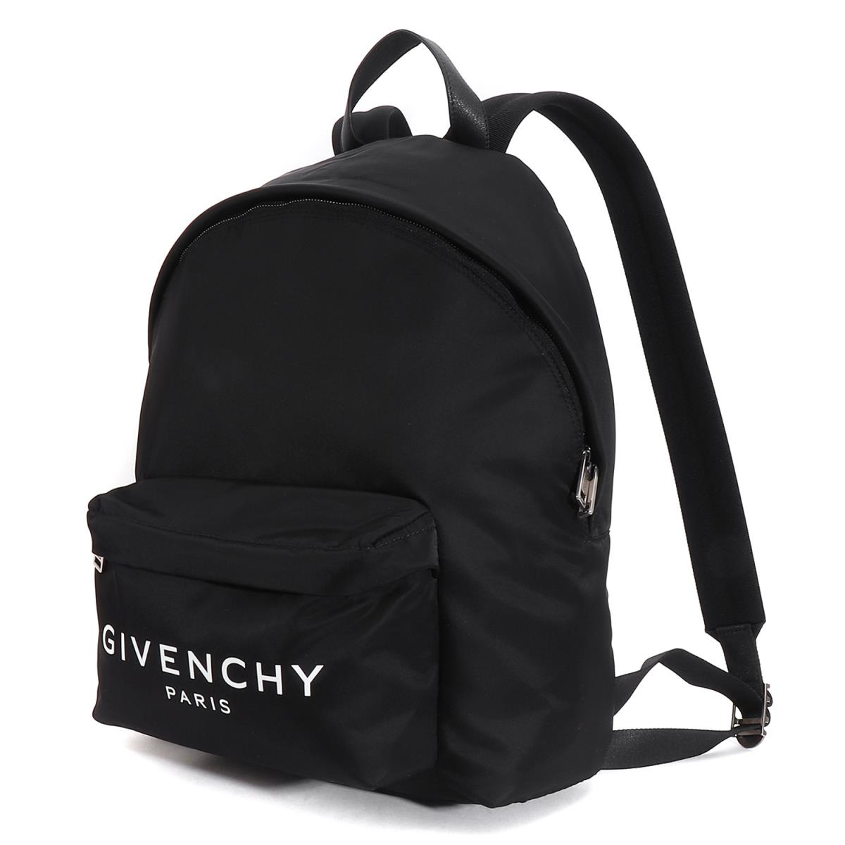 GIVENCHY (ジバンシィ) 18A W brand logo nylon backpack GIVENCHY PARIS BACKPACK  black 7b59fcba8d0ca