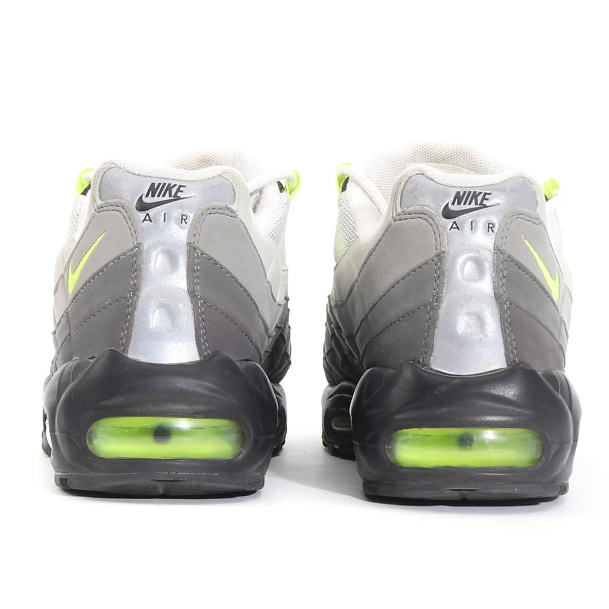 NIKE (Nike) AIR MAX 95 OG VOLT NEON ( 554,970 071 made in 2015) black X bolt US8.5(26.5cm)