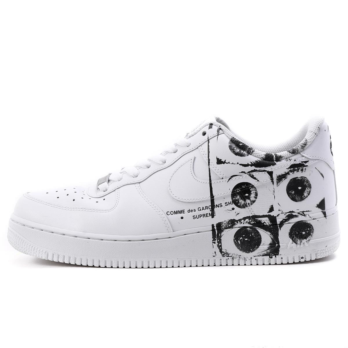 Supreme (シュプリーム) 17SS X COMME des GARCONS SHIRT X NIKE AIR FORCE 1 (923,044 100) white US10(28cm)