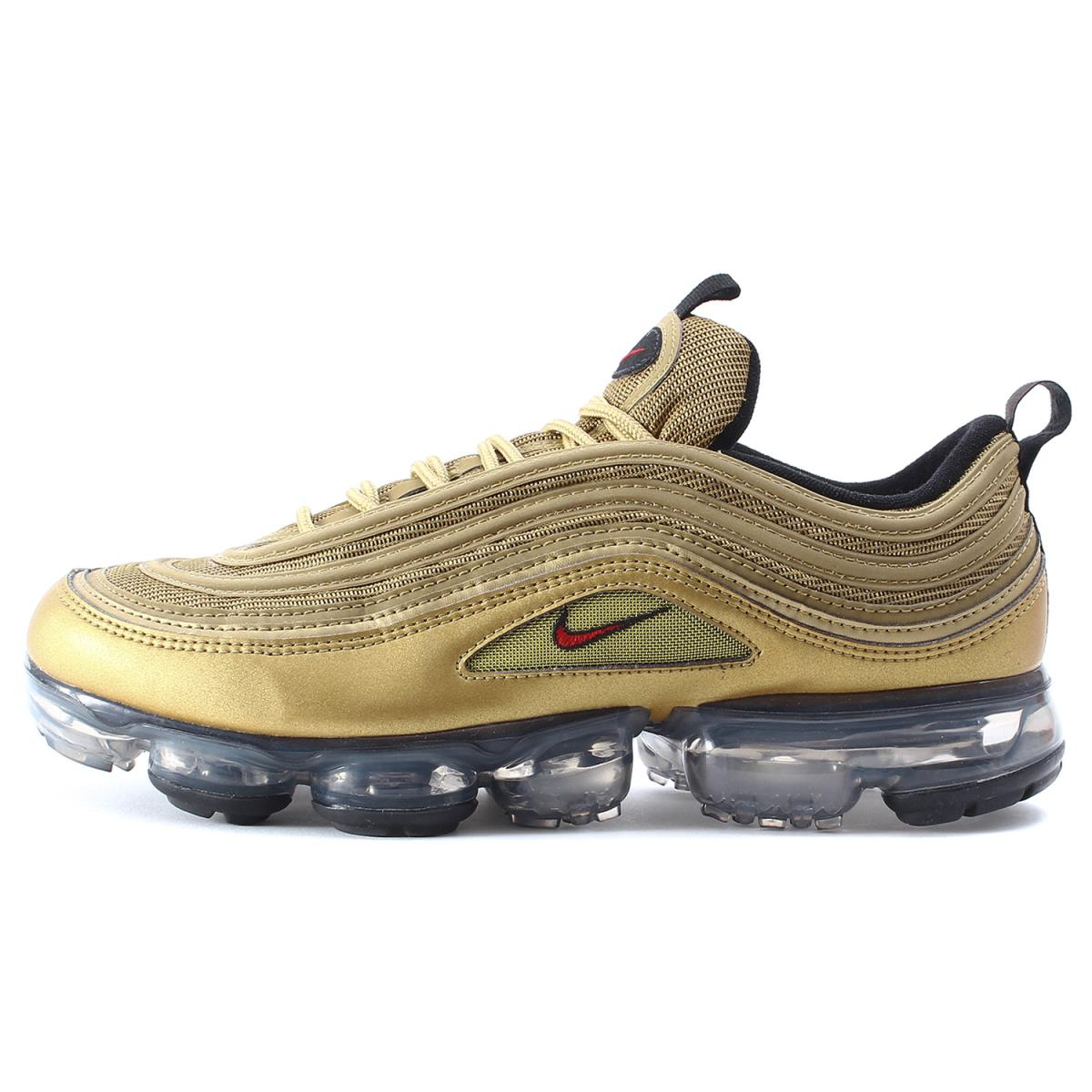 buy popular 617b7 db2df NIKE (Nike) AIR VAPORMAX 97 METALLIC GOLD (AJ7291-700) metallic gold  US9.5(27.5cm)