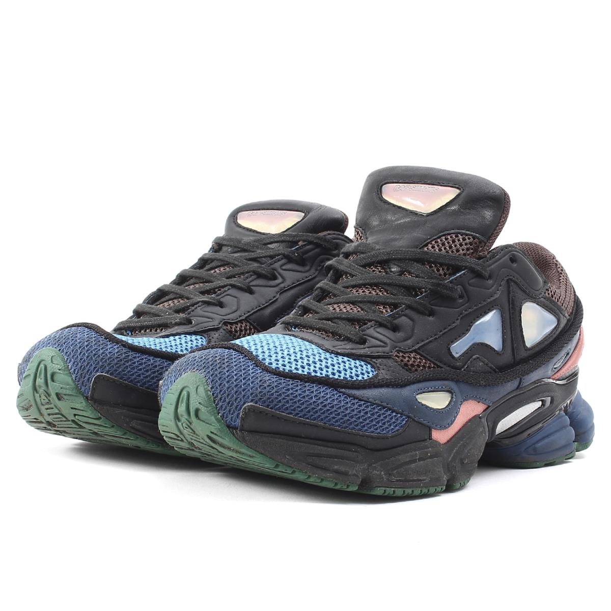 la moitié 66aa3 ef9d8 RAF SIMONS (rough Simmons) X adidas OZWEEGO II(S76451) オズウィーゴ 2 sneakers  black US8.5(26.5cm)