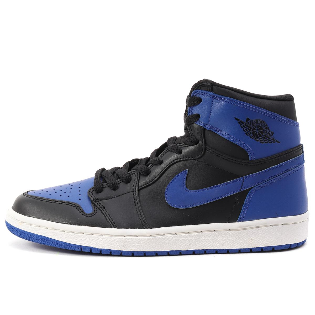 the latest b5ede 4aafa Black X royal US9(27cm) which there is 27,000 pairs-limited AIR JORDAN 1  RETRO ROYAL (136,066-041) box made in NIKE (Nike) 2001 in