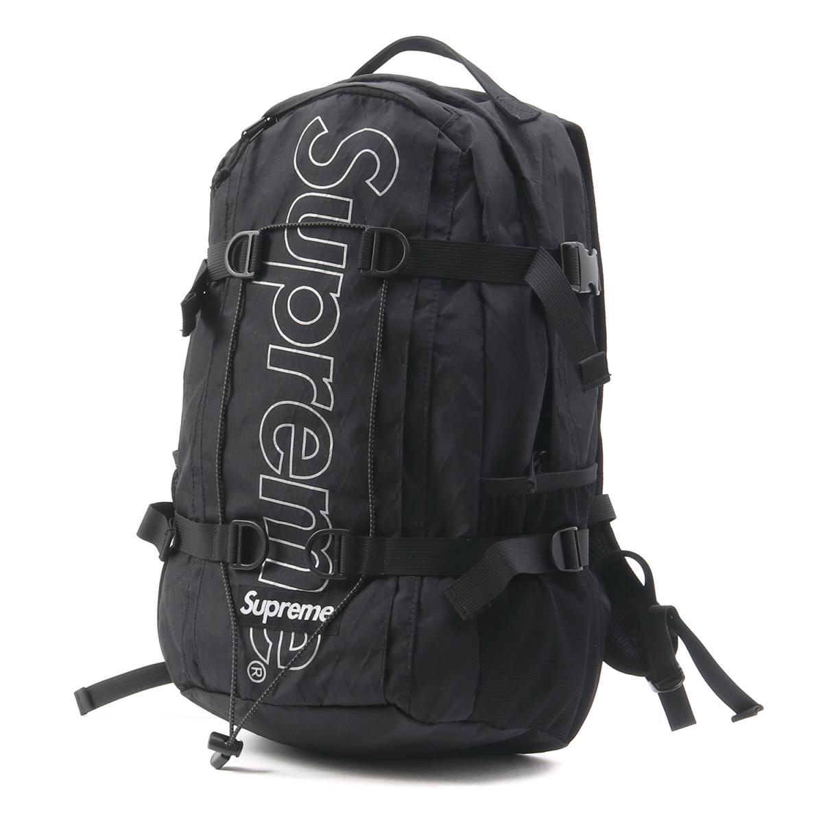 Supreme (シュプリーム) 18A/W ブランドロゴX-PACバックパック(Backpack) ブラック 【美品】【メンズ】【K2191】【中古】【あす楽☆対応可】