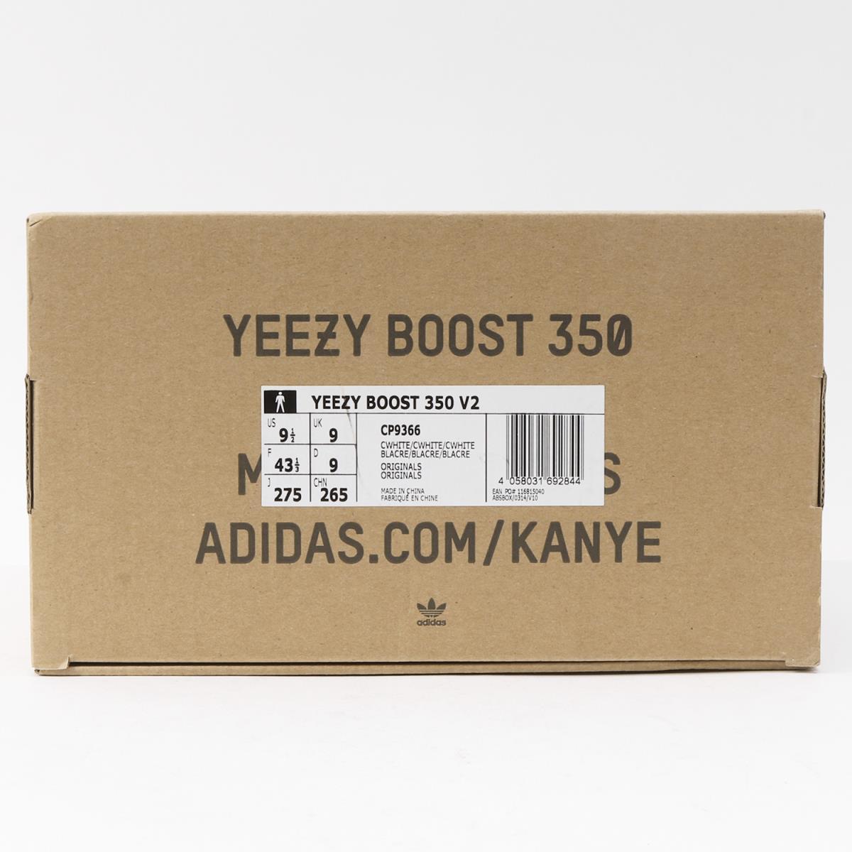 b483bee75738b adidas (Adidas) YEEZY BOOST 350 V2 CREAM WHITE (CP9366) white US9.5(27.5cm)