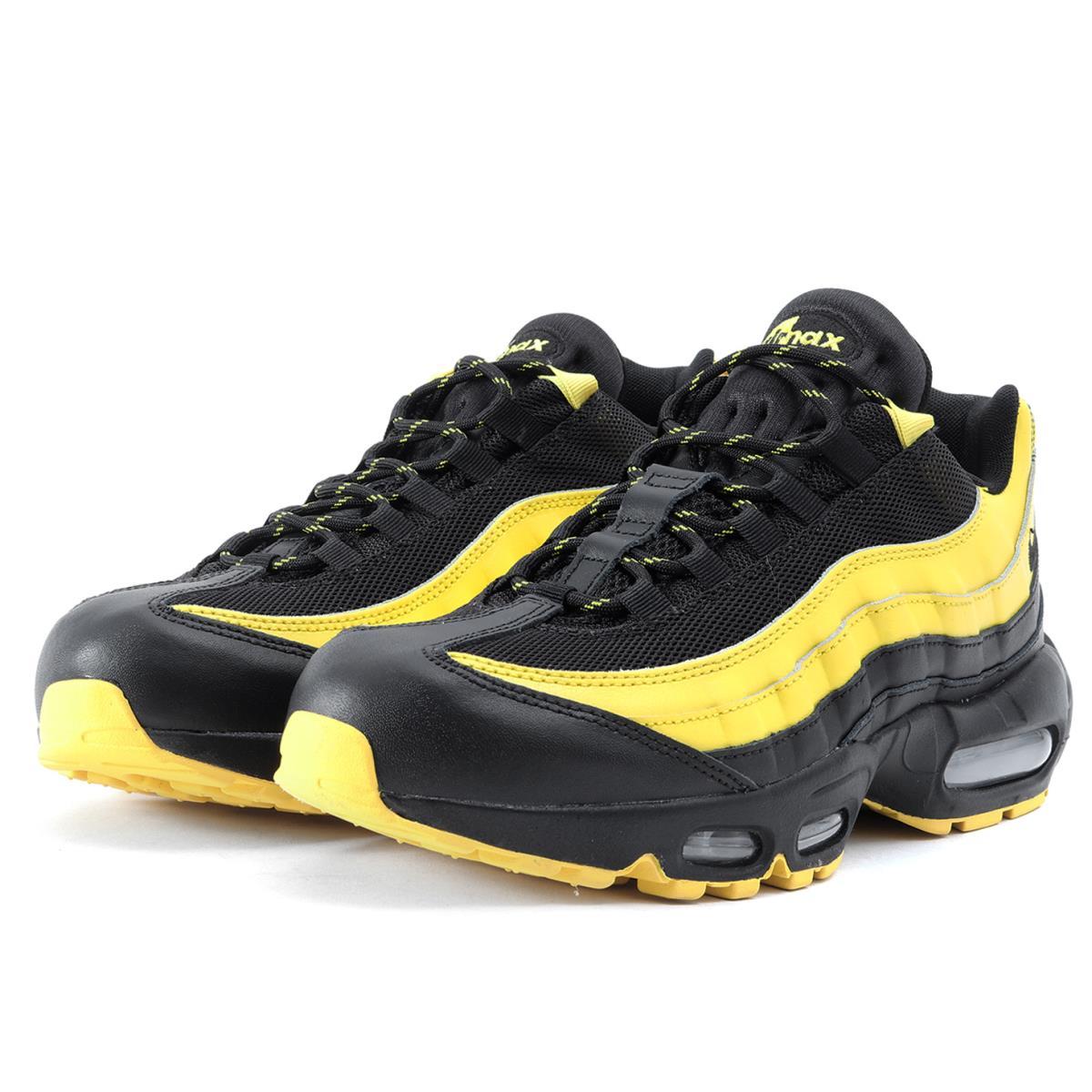 wholesale dealer acfcc 114b7 NIKE (Nike) FOOT LOCKER comment AIR MAX 95 FREQUENCY PACK(AV7939-001) black  X yellow US9(27cm)