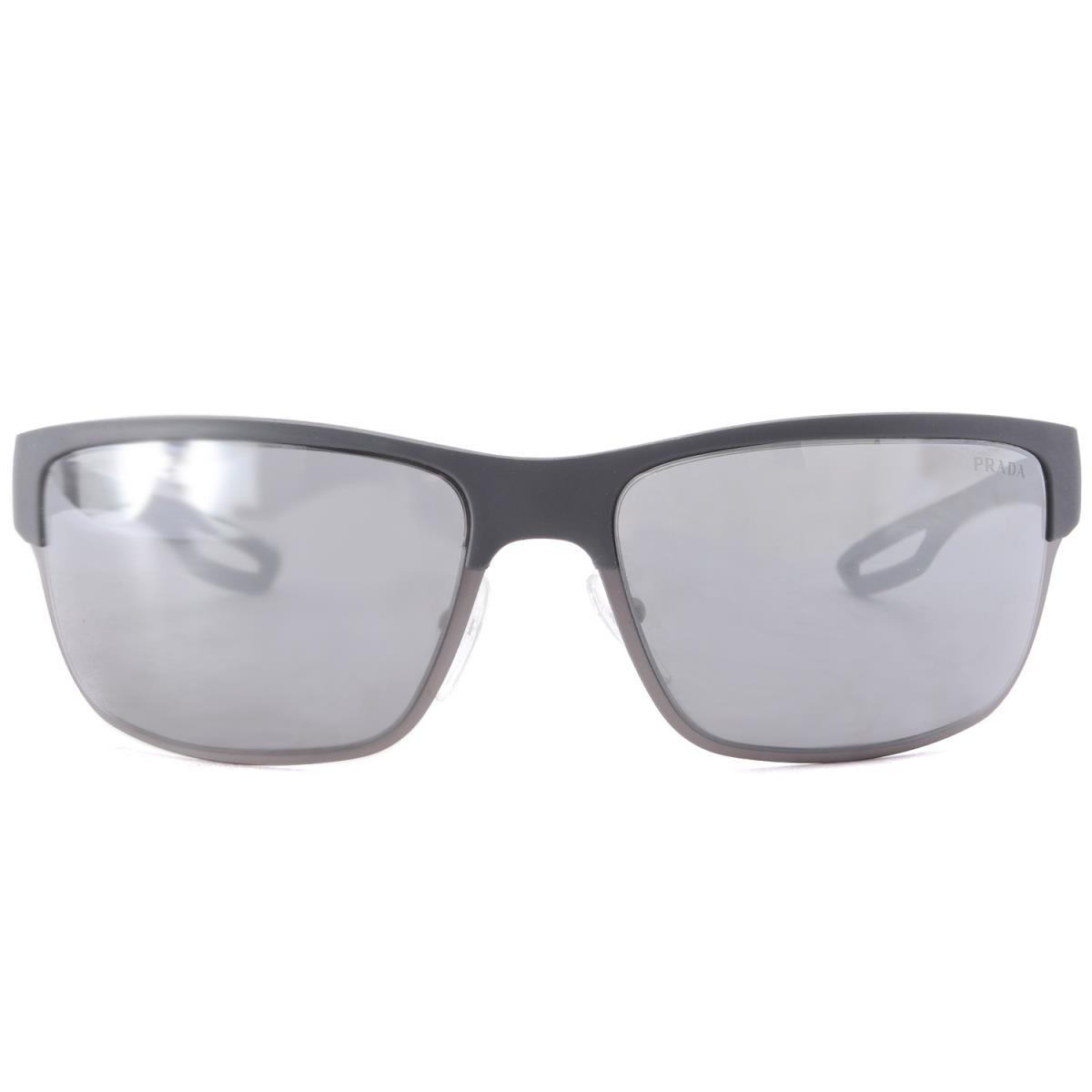 6e95e193c6 PRADA SPORTS (Prada sports) rubber X metal frame smoke lens sunglasses (SPS  50Q) glasses gray X smoke lens 64 □ 18