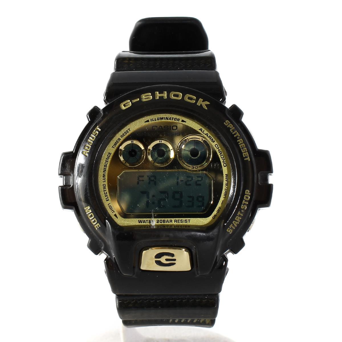 G-SHOCK (ジーショック) 30周年記念 DW-6930D-1JR Thirty Stars 腕時計 / ウォッチ ブラック×ゴールド 【メンズ】【K2211】【中古】【あす楽☆対応可】