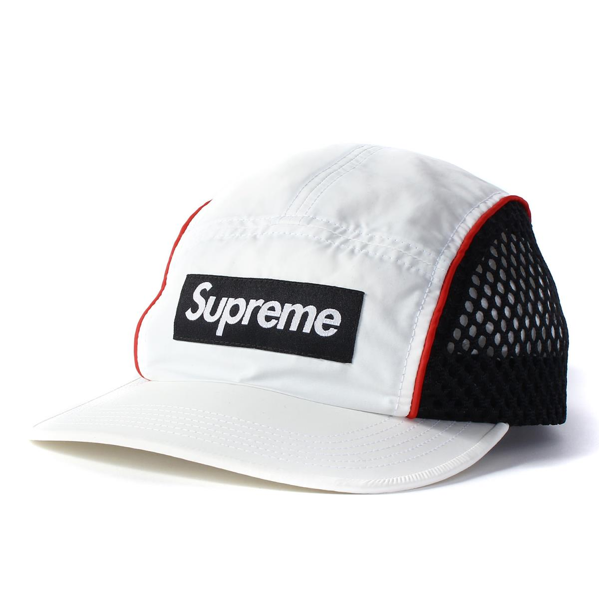 07ff960cb25 White for Supreme (シュプリーム) cap 17SS BOX logo race camping cap Race Camp Cap  17 years in the spring and summer