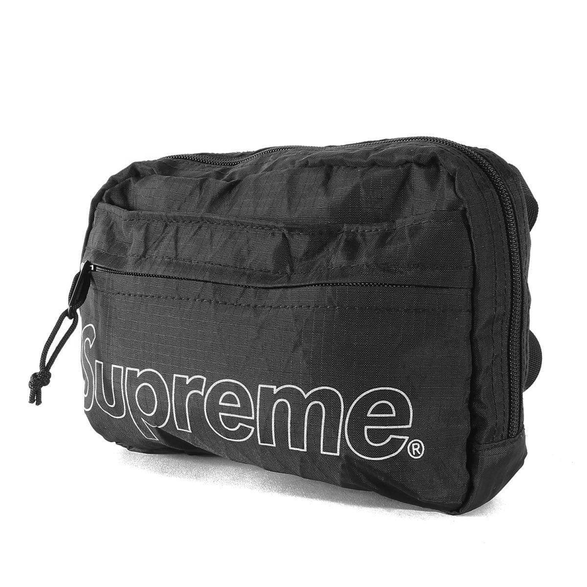 Supreme (シュプリーム) バッグ ブランドロゴ X-PAC ショルダーバッグ Shoulder Bag 18年秋冬 ブラック 【メンズ】【美品】【K2234】【中古】【あす楽☆対応可】