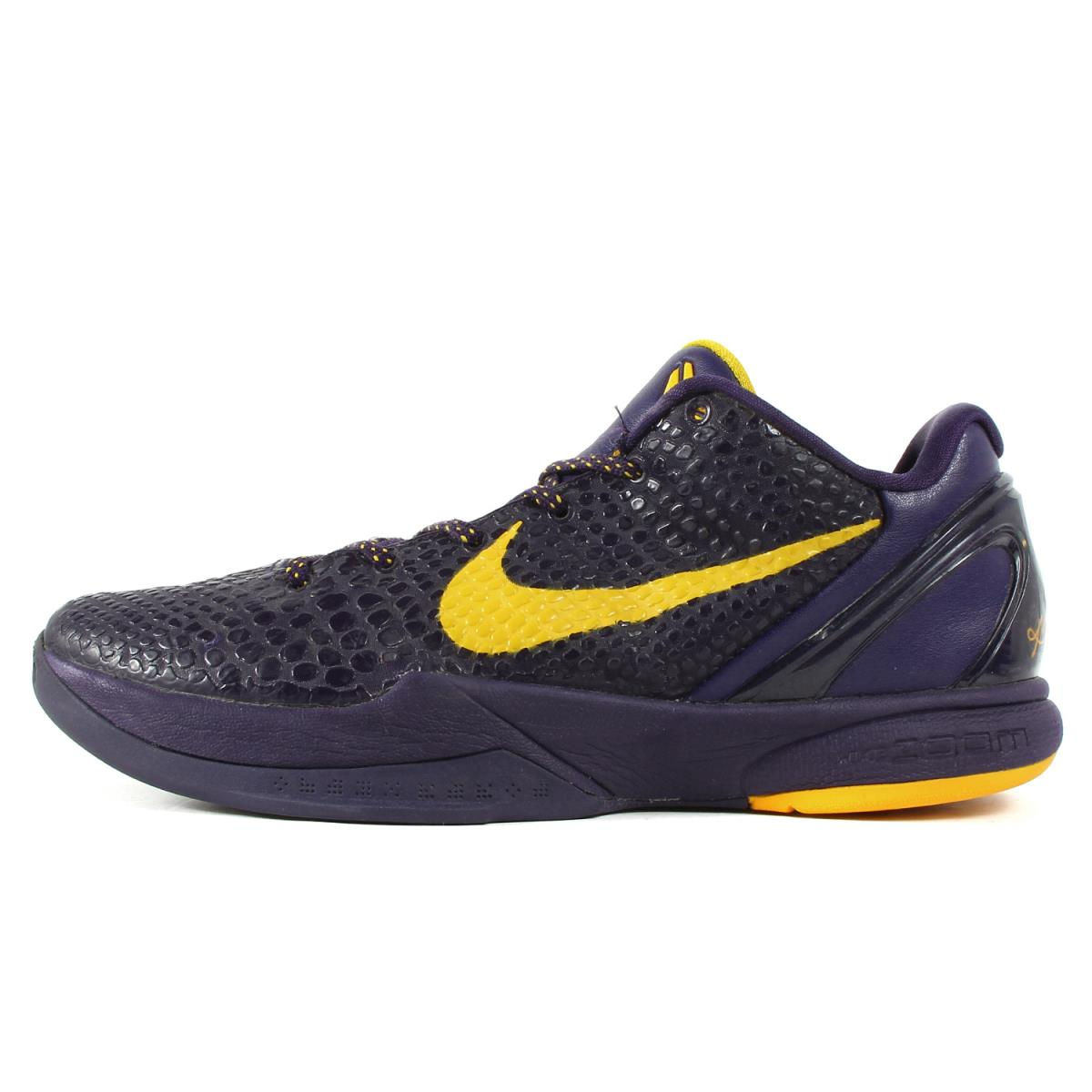 watch bbe1d 5343f NIKE (Nike) ZOOM KOBE 6 Lakers (429,659-501) Imperial purple US10 ...