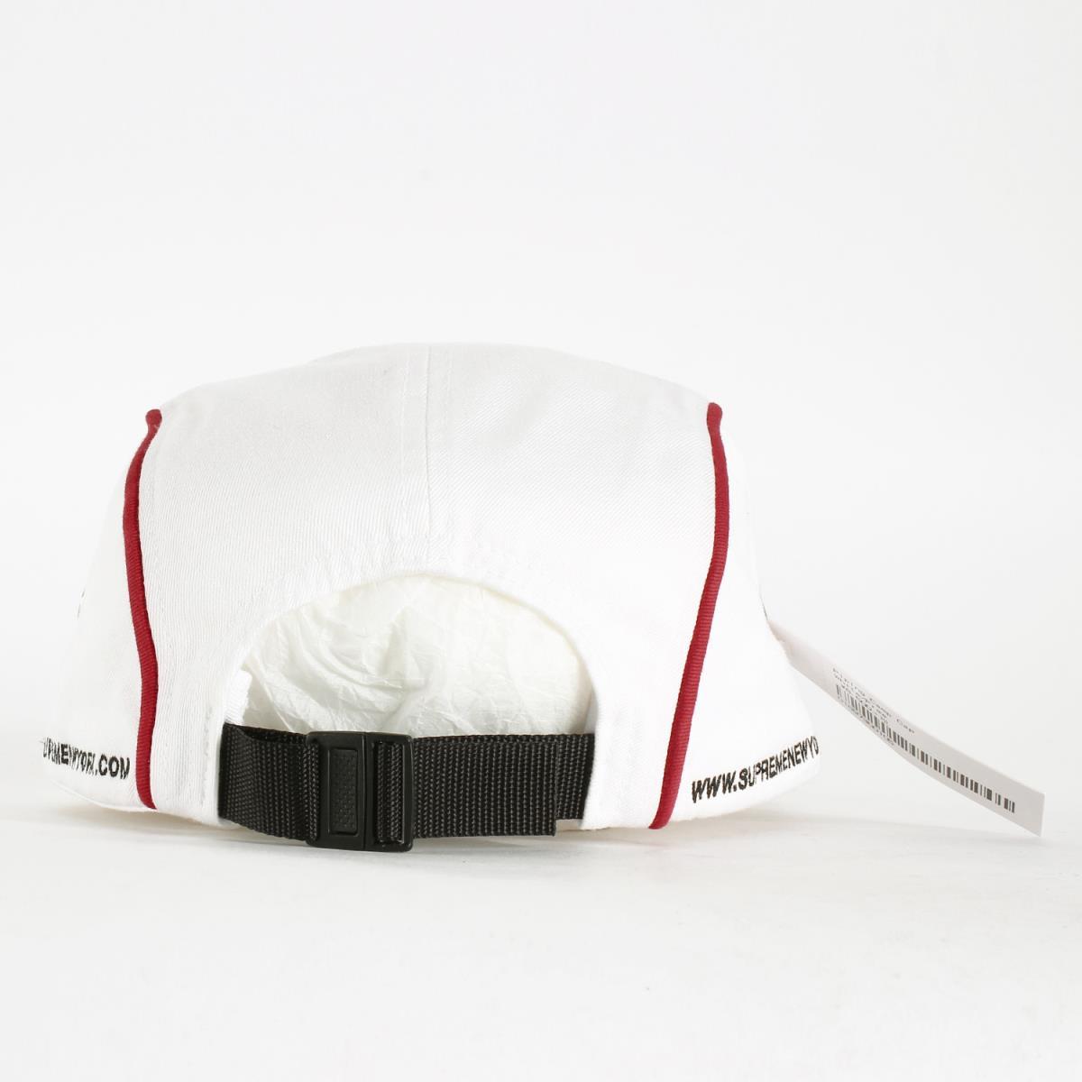 【メンズ】 パイピングBOXロゴキャンプキャップ 18A/ W 【K2265】 【あす楽☆対応可】 (Piping Camp Cap) Supreme (シュプリーム) ホワイト