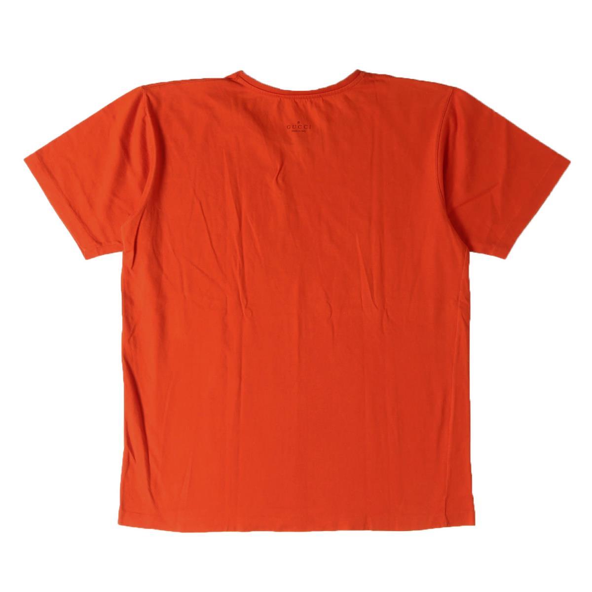 bac102123 BEEGLE by Boo-Bee: GUCCI (Gucci) plane crew neck T-shirt orange L ...