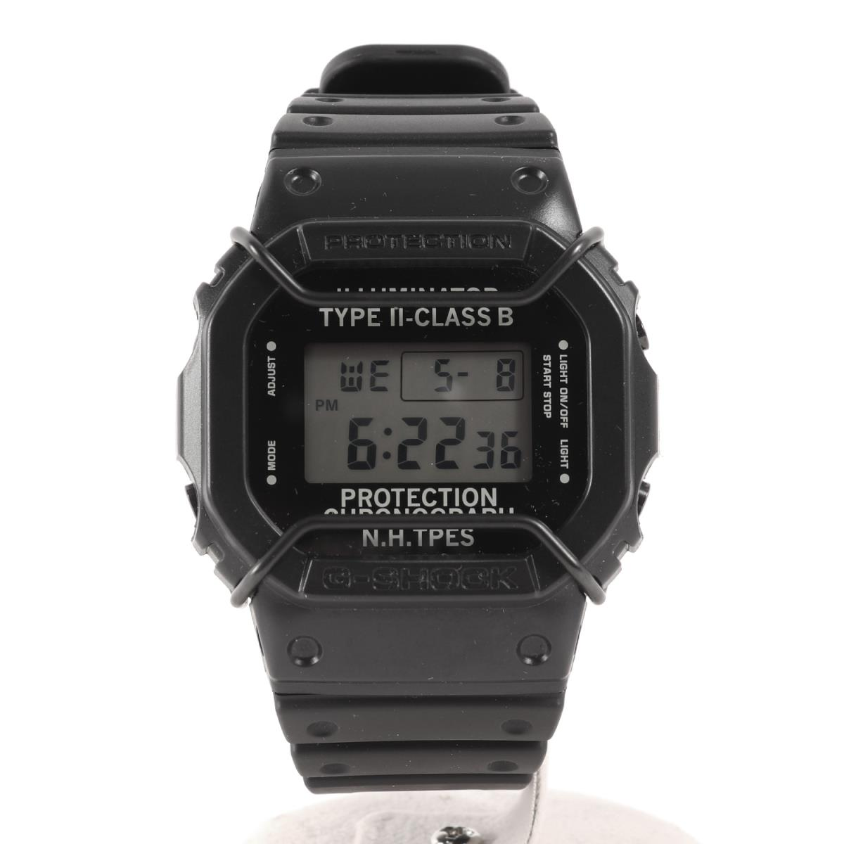 N.HOOLYWOOD (エヌハリウッド) ×CASIO G-SHOCK DW-5600NH-1A2JR 腕時計 ウォッチ ブラック 【メンズ】【中古】【K2281】【あす楽☆対応可】