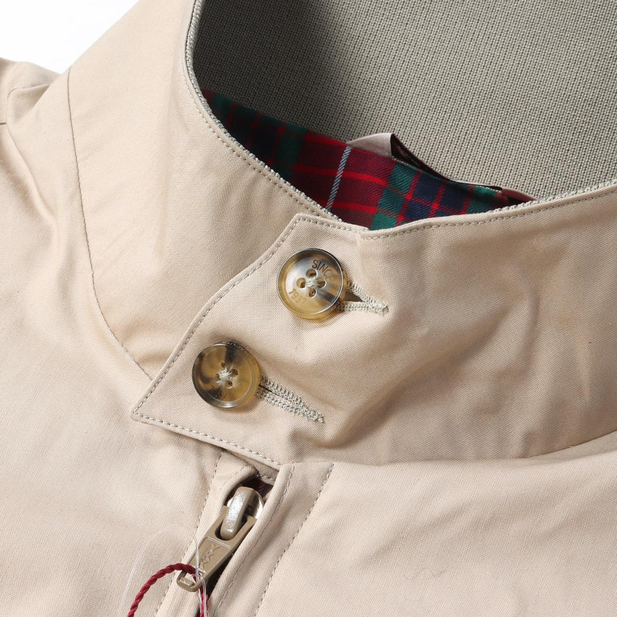 BARACUTA (バラクータ) 18S/S BEAMS PLUS comment G9 Harrington jacket (classic  model) tongue (sand) 38(M)