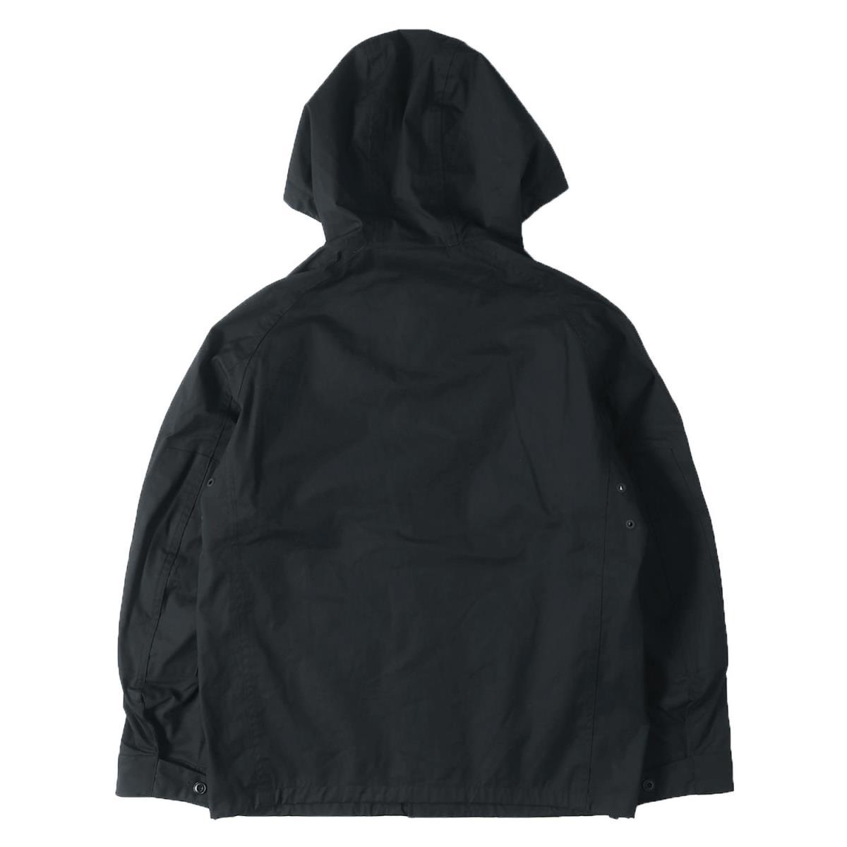 7650ac73 ... CHRISTOPHE LEMAIRE (Christoph Lemerre) X UNIQLO hooded cotton field jacket  black M ...