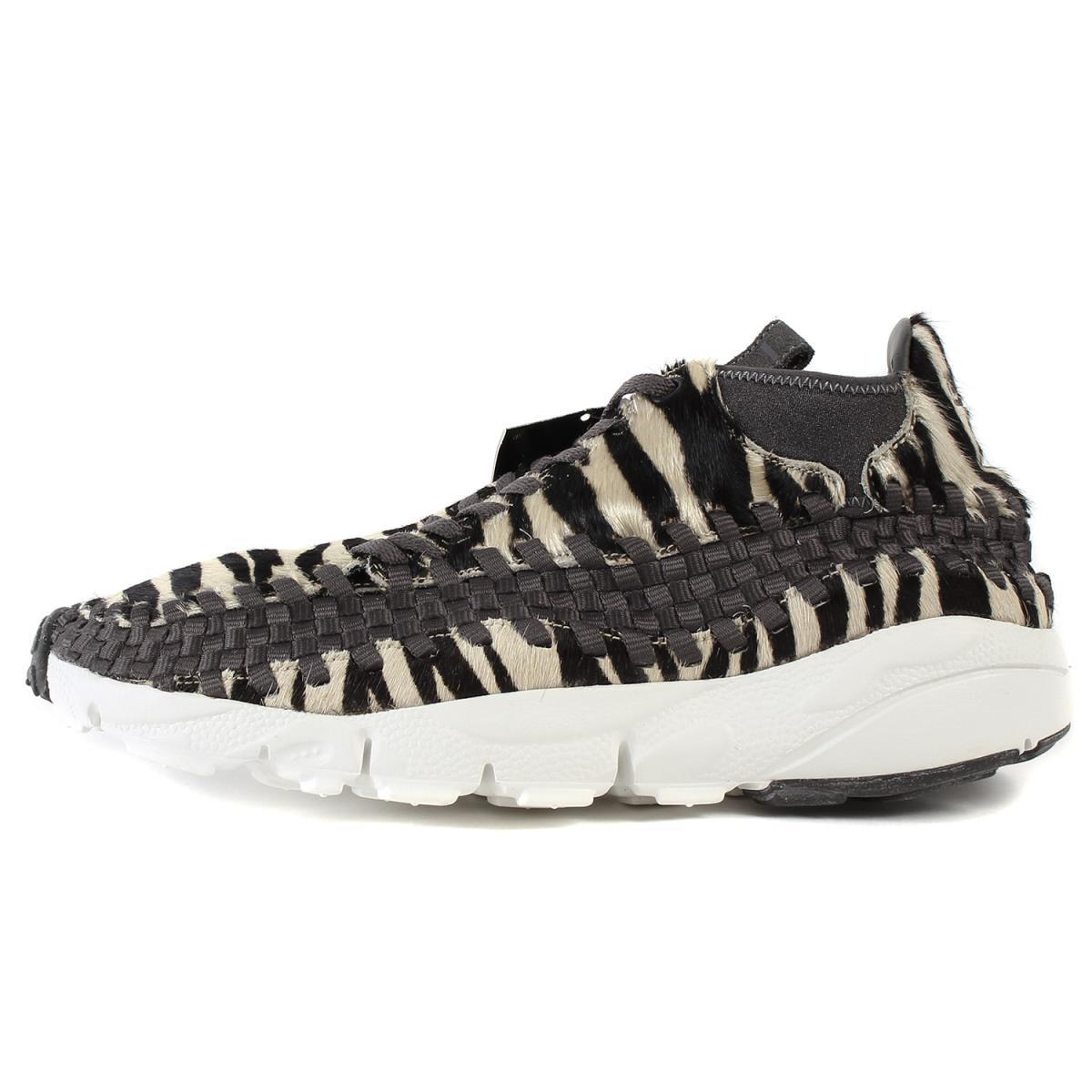 NIKE (Nike) AIR FOOTSCAPE WOVEN CHUKKA PREMIUM ZEBRA (446,337-201) zebra  US10(28cm)