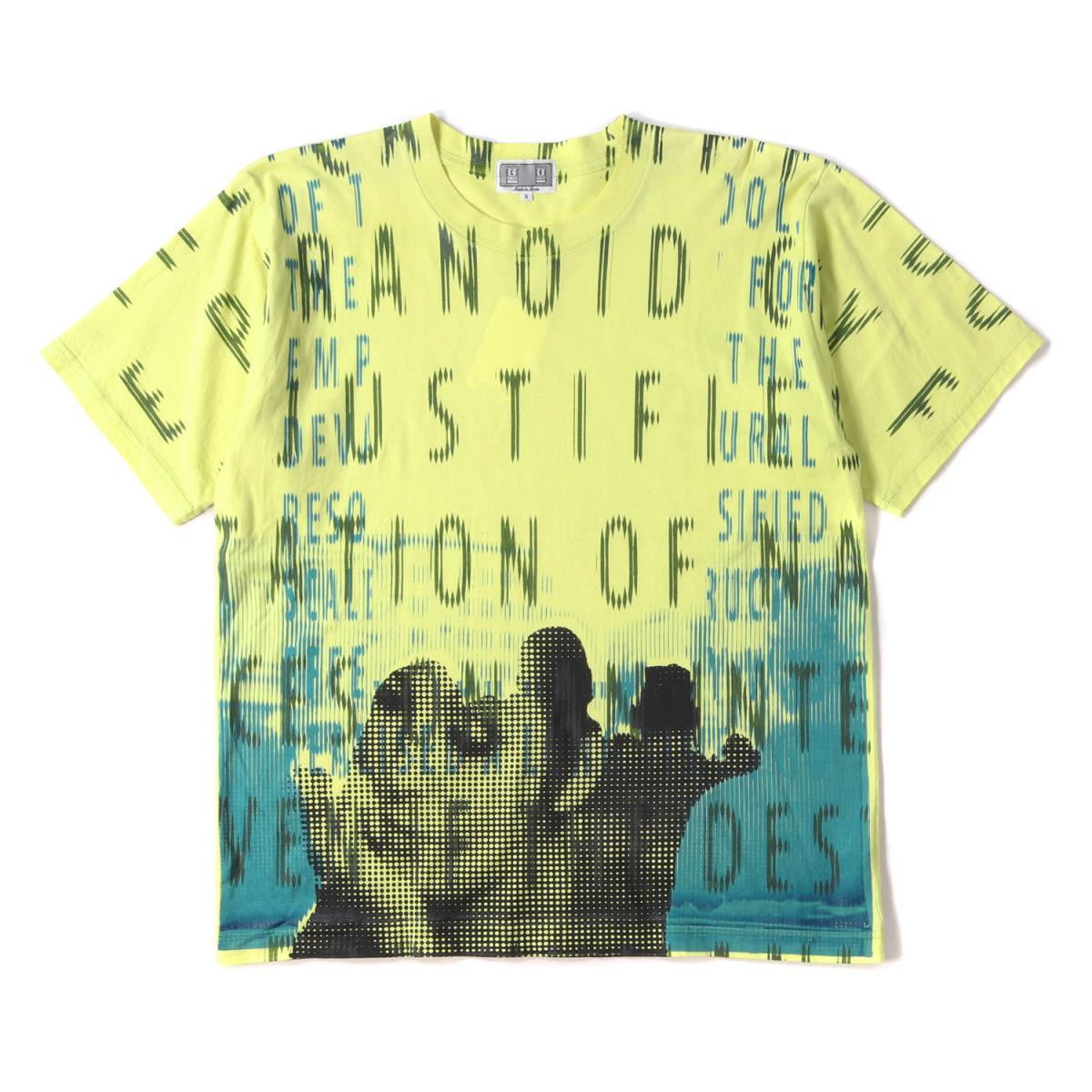 C.E (シーイー) グラフィックプリントTシャツ イエロー S 【メンズ】【中古】【K2356】【あす楽☆対応可】