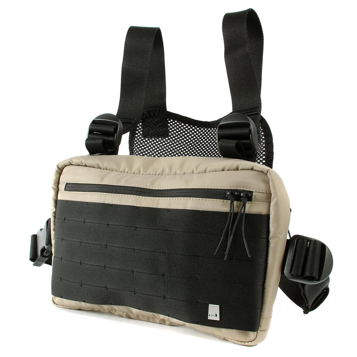 ALYX (アリクス) 19S/S チェストリグバッグ(Classic Chest Rig Bag) 1017 ALYX 9SM イタリア製 サンドベージュ×ブラック 【メンズ】【K2564】【あす楽☆対応可】