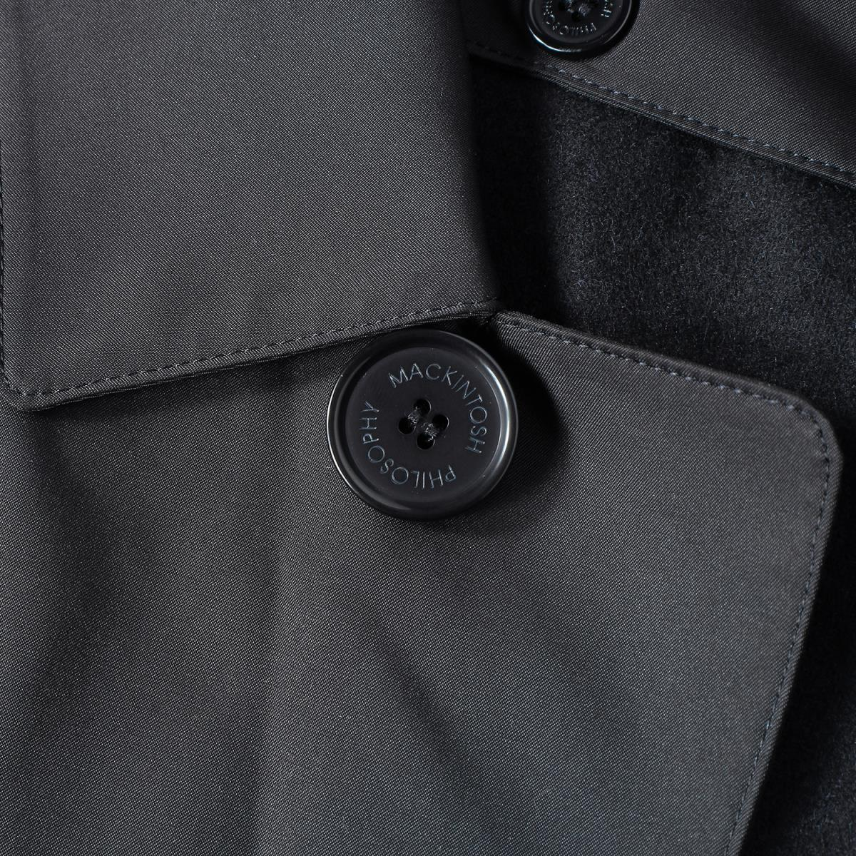 MACKINTOSHマッキントッシュコート 中綿ライナー 付き ポリエステル ステンカラーコート MACKINTOSHrtshQxdC