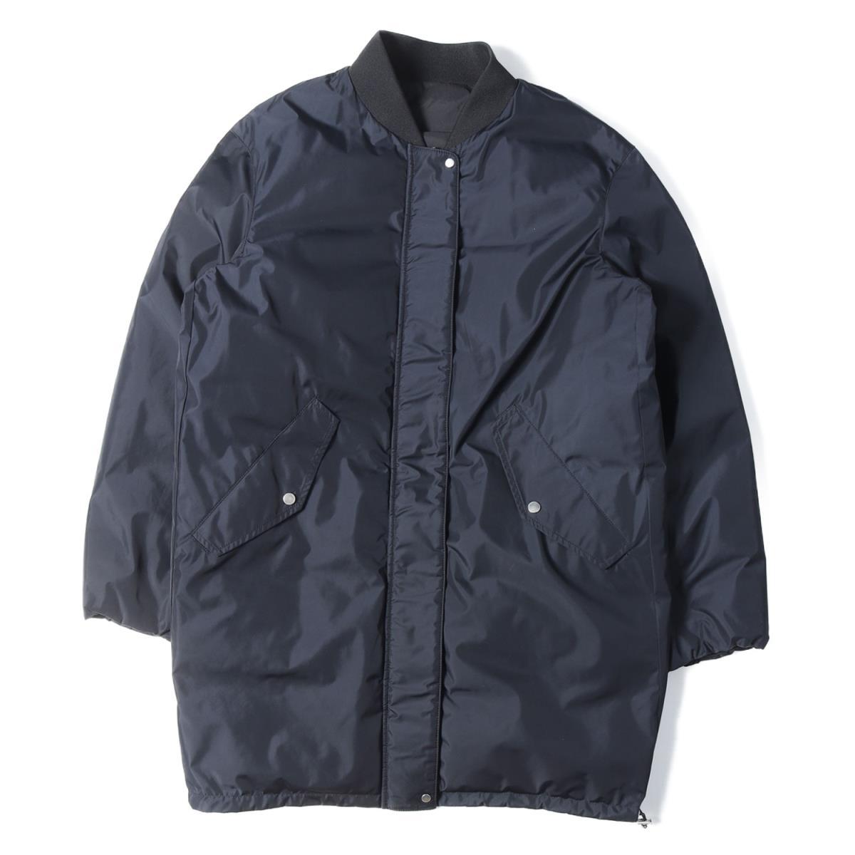 MACPHEE マカフィー 中綿 ポリエステル リバーシブル コート ブラック 36(9号) 【レディース】【中古】【K2502】