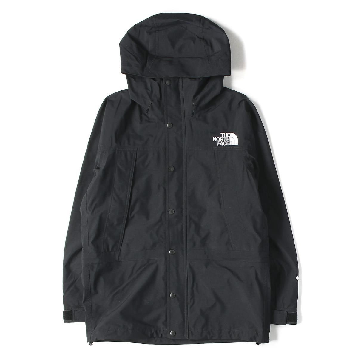THE NORTH FACE ザ ノースフェイス ジャケット 19AW GORE-TEX マウンテンライトジャケット Mountain Light Jacket ブラック M 【メンズ】【美品】【中古】【K2565】