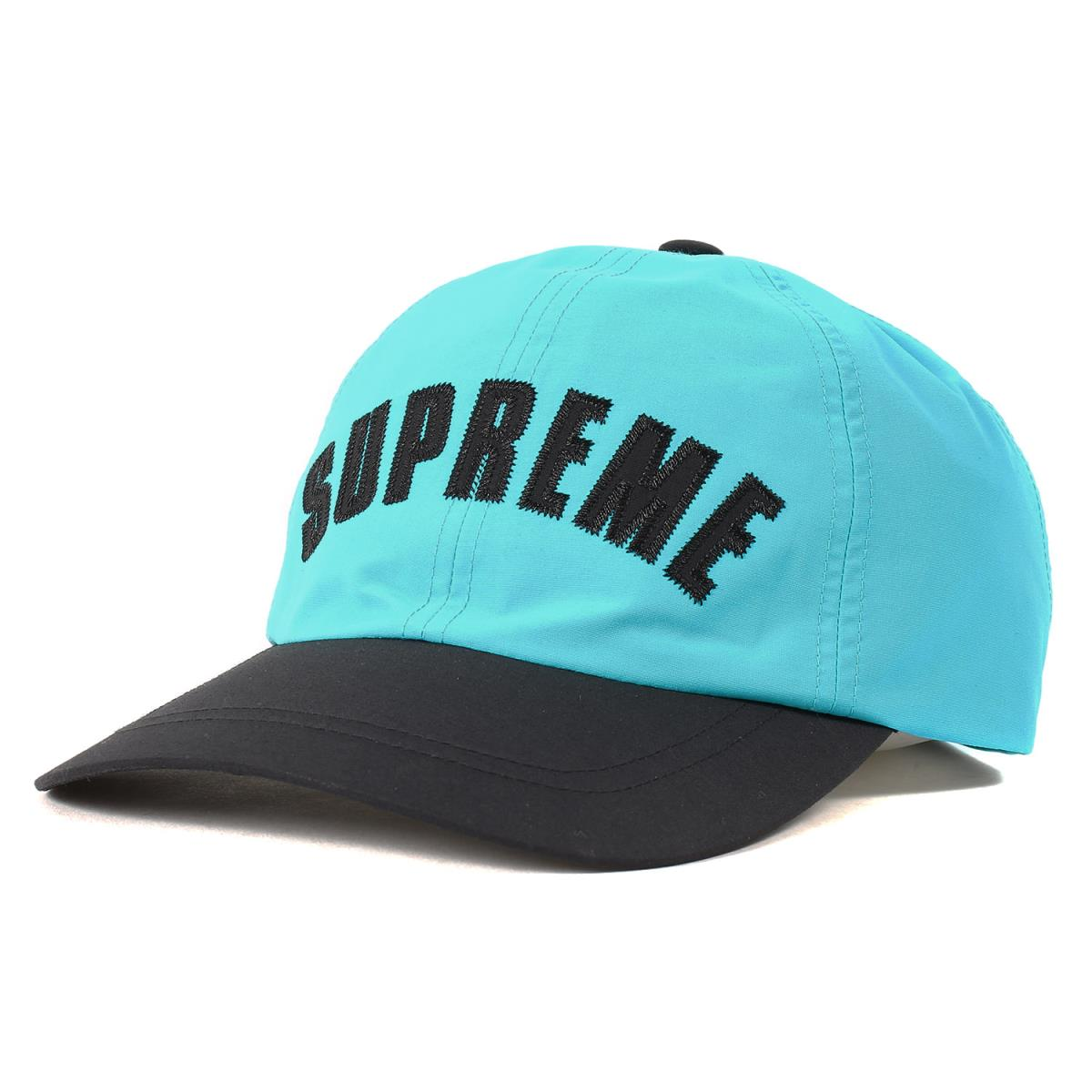 Supreme シュプリーム キャップ THE NORTH FACE GORE-TEX 6パネル キャップ Arc Logo 6-Panel 19SS ティール 【メンズ】【中古】【美品】【K2578】