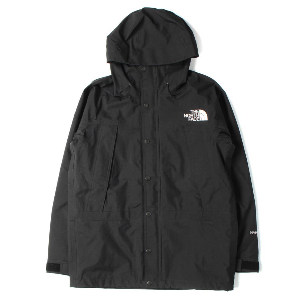 THE NORTH FACE ザ ノースフェイス ジャケット GORE-TEX マウンテンライトジャケット Mountain Light Jacket ブラック(K) M 【メンズ】【美品】【中古】【K2586】