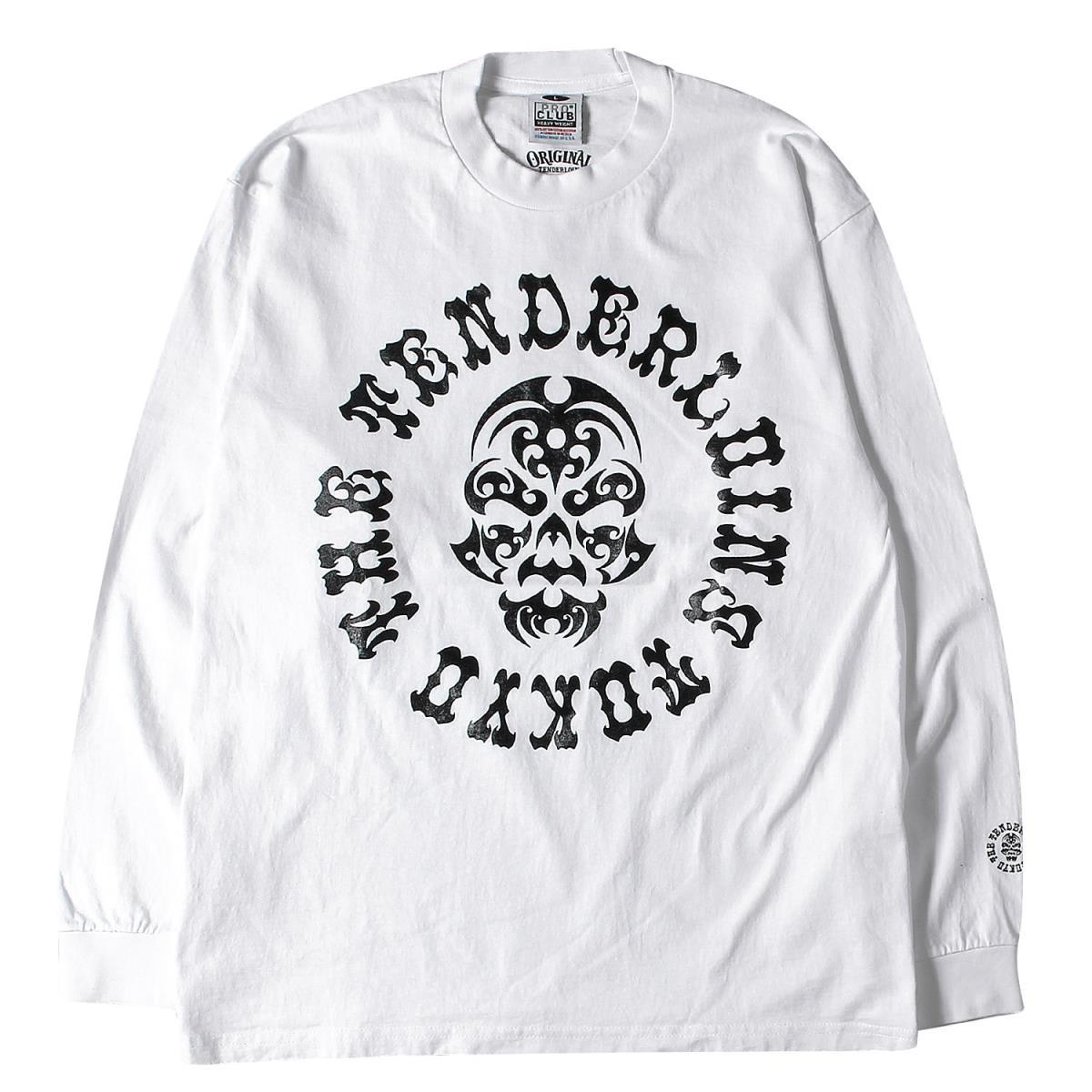 TENDERLOIN テンダーロイン Tシャツ 17AW ボルネオスカル ヘビー ロングスリーブTシャツ T-TEE BS L/S ホワイト L 【メンズ】【美品】【中古】【K2595】