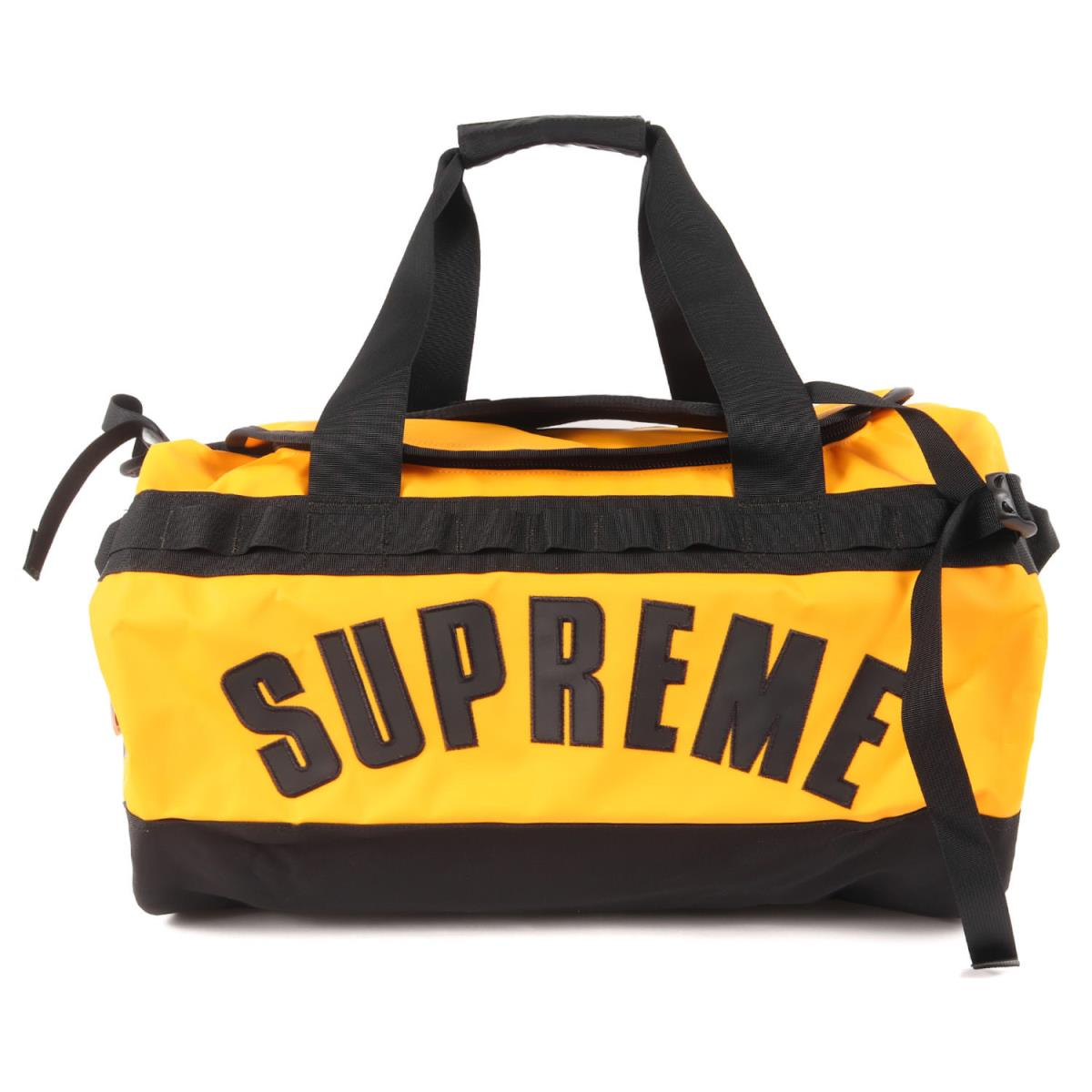 Supreme シュプリーム バッグ THE NORTH FACE ダッフルバッグ Arc Logo Base Camp Duffle Bag 19SS イエロー 【メンズ】【K2619】